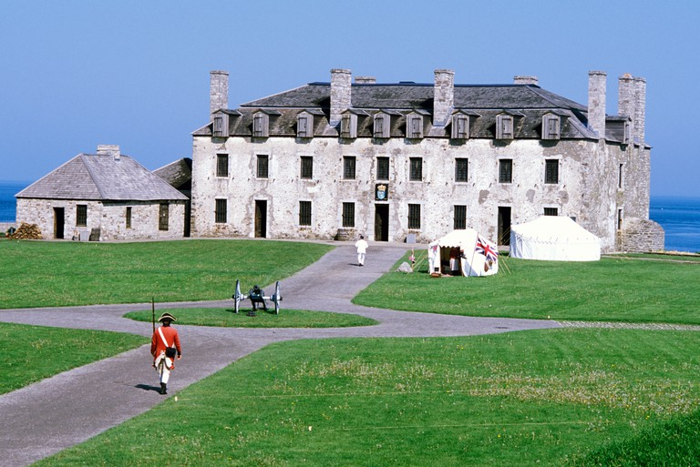North America, USA, New York, Youngstown. Old Fort Niagara