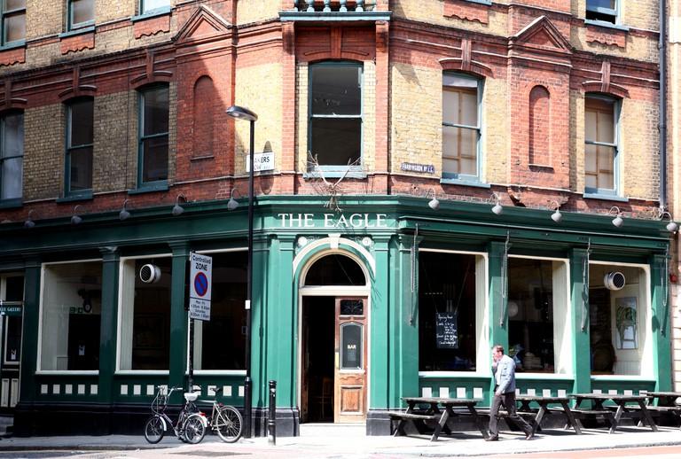 The Eagle gastropub, Farringdon Road, London