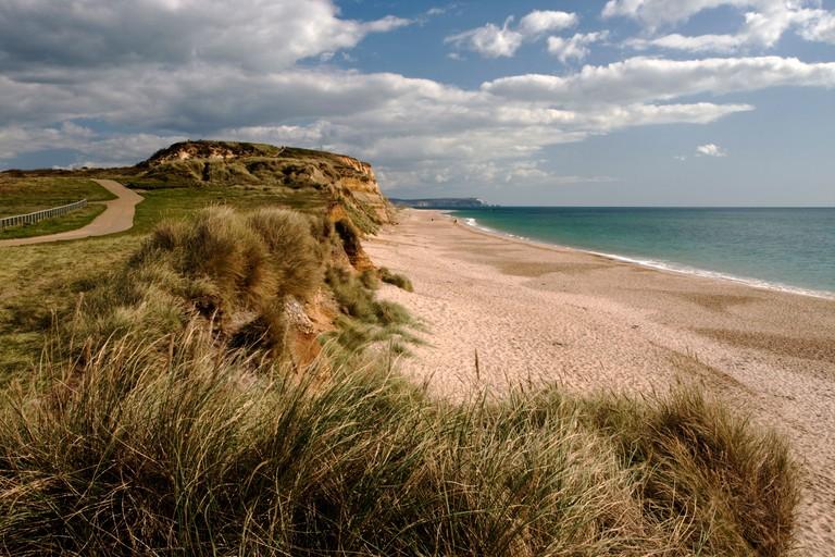 Hengistbury Head, Christchurch Bay, Dorset, England, United Kingdom, Europe