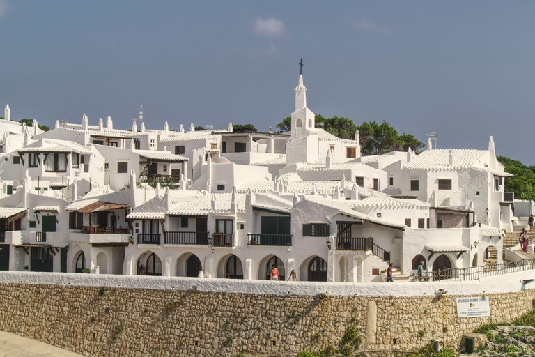 Binibeca Vell holiday village,Menorca,Balearic Islands,Spain,Europe