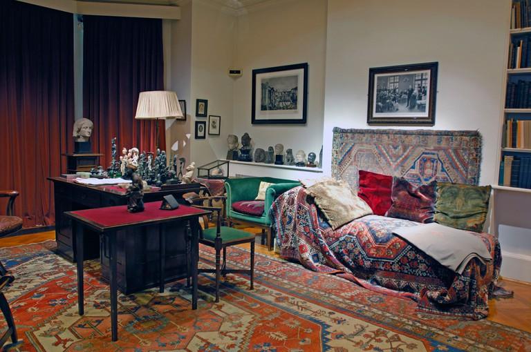UK London Freud Museum Hampstead Great Britain Europe England Sigmund Freud psychoanalysis psychology psycho