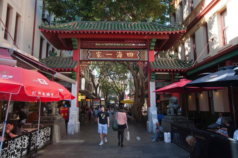 Dixon Street in Sydney's Chinatown