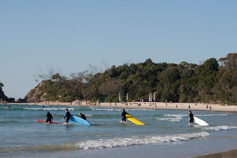 Clarke's Beach surf school