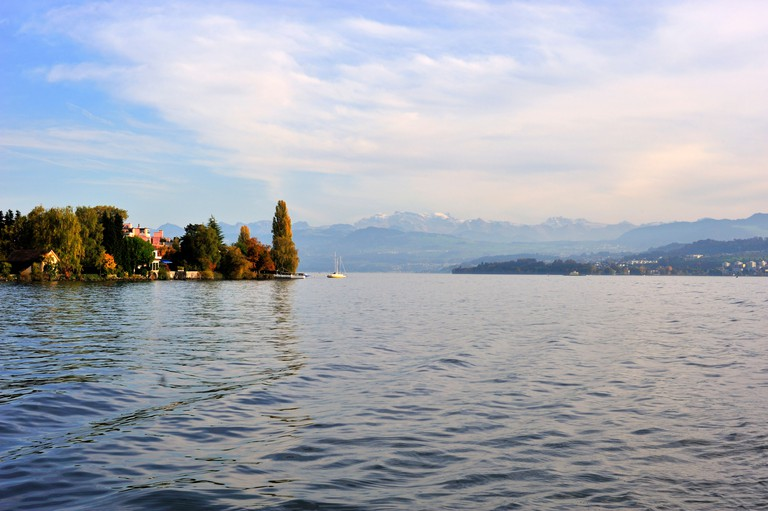 Lake Zurich, Zurich, Switzerland, Europe