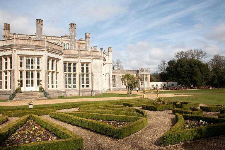 Highcliffe Castle 18th Century Castle Christchurch Dorset United Kingdom. Photo:Jeff Gilbert