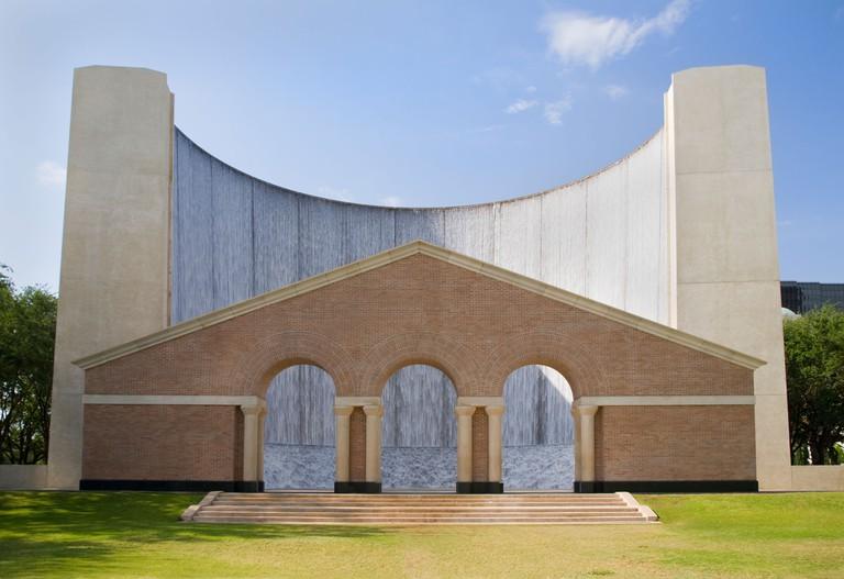 Gerald D. Hines Waterwall Park, Houston, Texas, USA