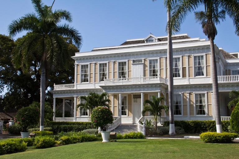 the Devon house in Kingston Jamaica