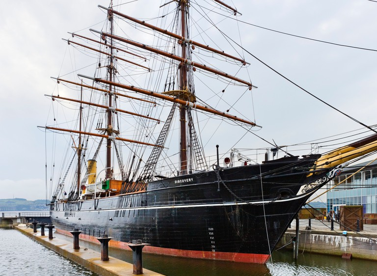 The RRS Discovery (Scott's Antarctic Expedition vessel), Dundee, Central Lowlands, Scotland, UK