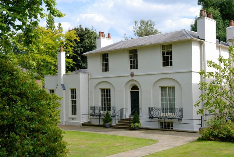 Keats House, Hampstead, London, England. Image shot 2011. Exact date unknown.