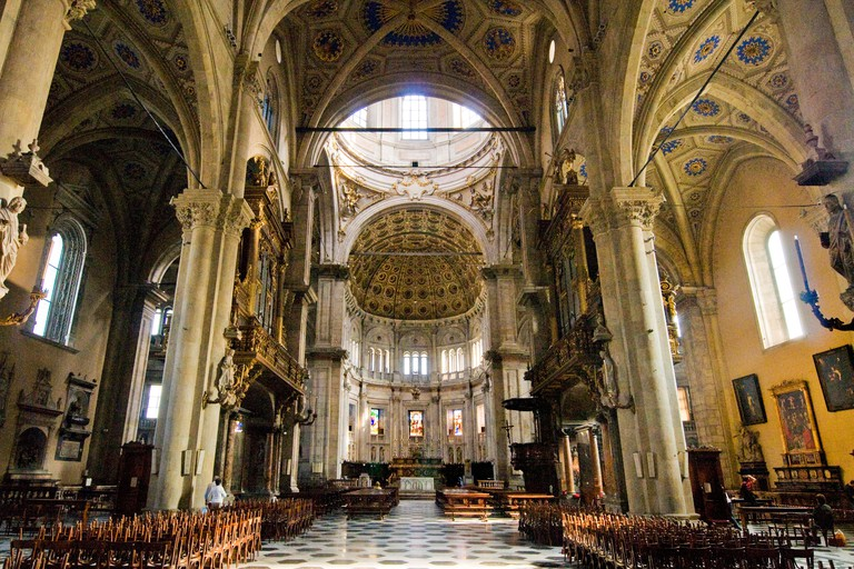 Italy, Lombardy, Como, The Duomo, interior view