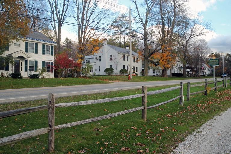 Dorset, Vermont, in autumn