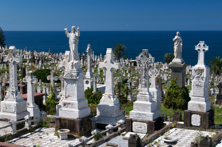 Waverley Cemetery Bronte Sydney Australia
