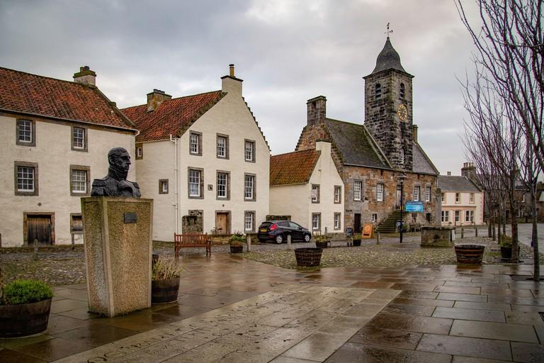 Culross / Scotland - Architecture, street and cityscape.