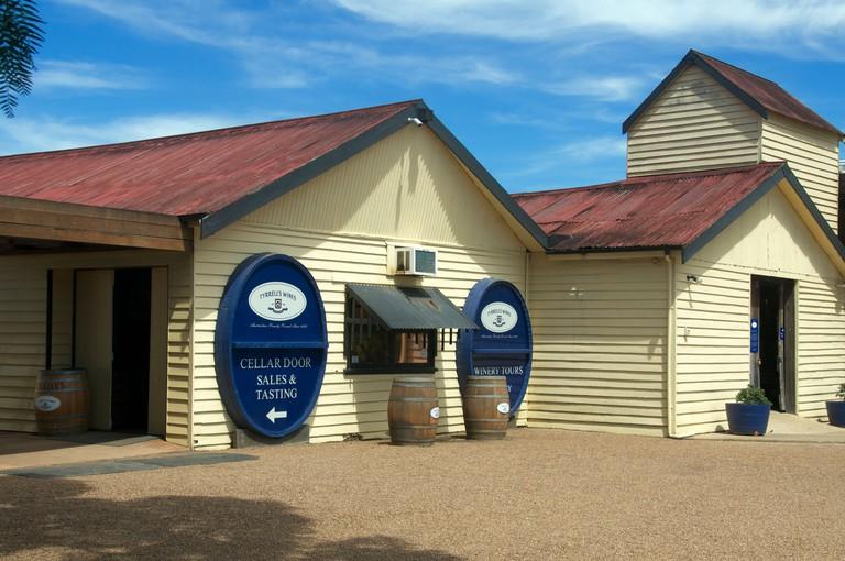 Tyrrells cellar door Hunter Valley NSW Australia