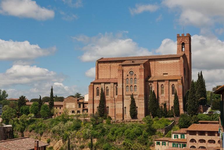 Basilica of San Domenico, Basilica Cateriniana, Siena, Tuscany, Italy
