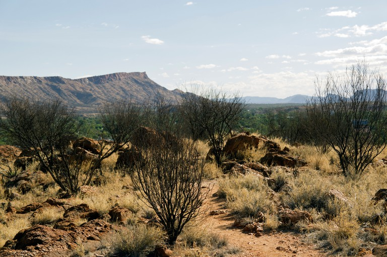 Annie Myer's Hill, Olive Pink Botanic Garden, Alice Springs, Northern Territories, Australia