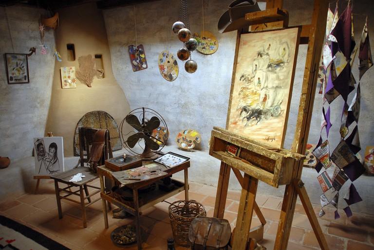 Author Studio at De Grazia Gallery In The Sun,Tucson, Arizona, United States