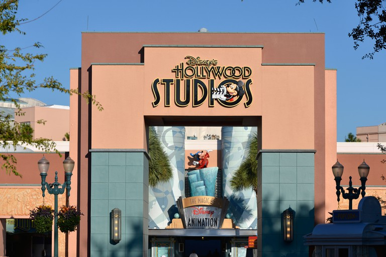 Hollywood Studios, Entrance to Magic of Disney Animation, Disney World, Orlando, Florida