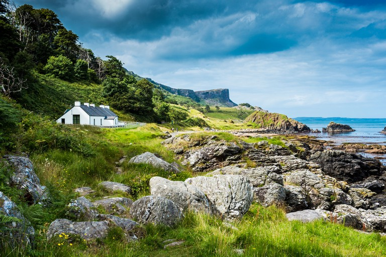 Cottage at Murlough Bay North Antrim Northern Ireland