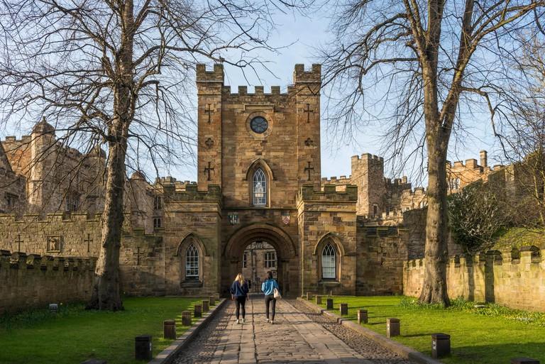 Durham Castle, now Durham University student accommodation, County Durham, England, UK