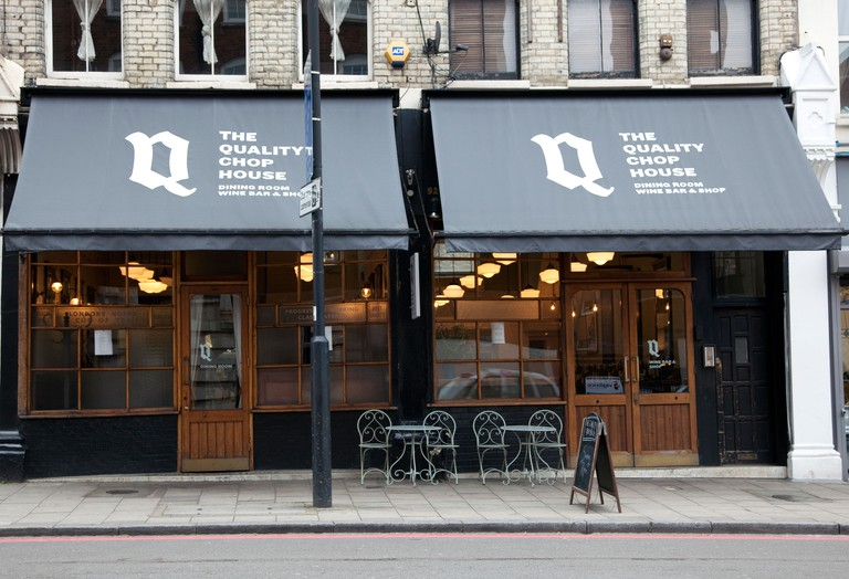 The Quality Chop House dining room & bar, Clerkenwell, London