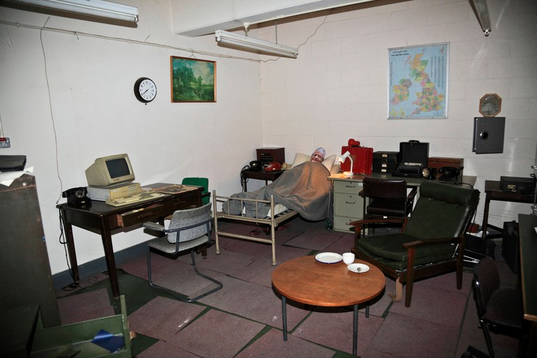9372. Kelvedon Hatch, Secret Nuclear Bunker, Brentwood, Essex, England