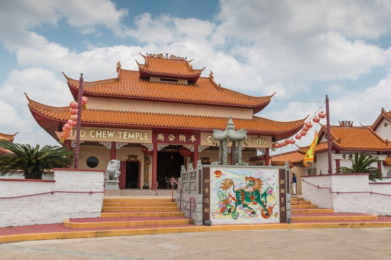 Teo-Chew Temple, Vietnamese and Taoist Temple in Southwest Houston, Texas.