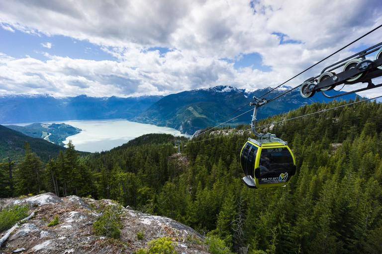 Sea to Sky Gondola. Squamish, British Columbia, Canada.