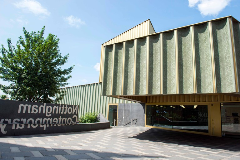 Exterior of the Nottingham Contemporary, Nottinghamshire England UK