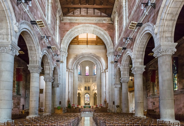 Interior of St Anne's Cathedral, Cathedral Quarter, Belfast, Northern Ireland, UK