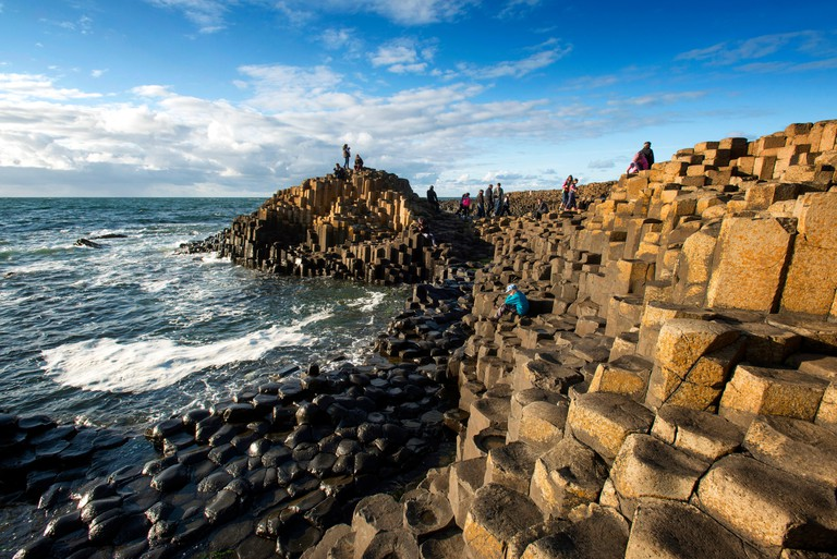 The Giants Causeway, Co, Antrim, Northern Ireland. Image shot 08/2014. Exact date unknown.
