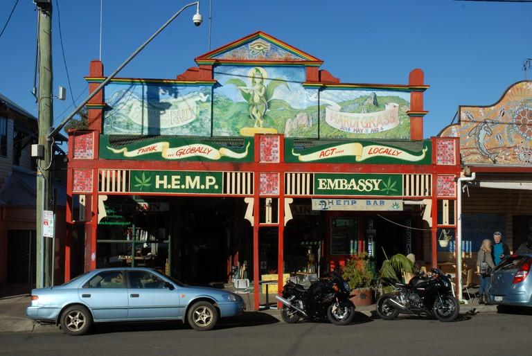 Nimbin, New South Wales, Australia.
