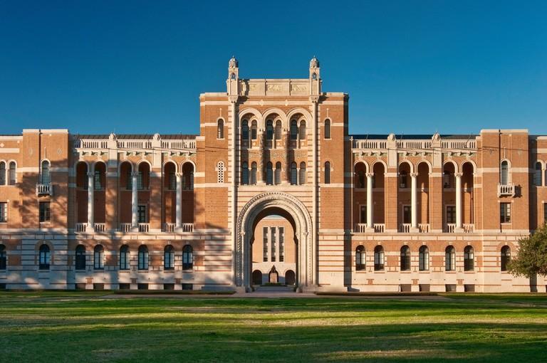 Lovett Hall at Rice University, Houston, Texas, USA