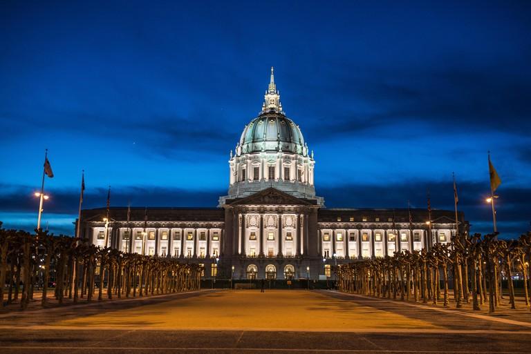 San Francisco City hall, San Francisco, California, USA