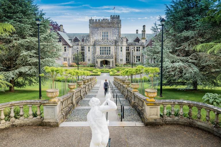 Hatley Castle, Hatley Park, Colwood, Greater Victoria, British Columbia, Canada
