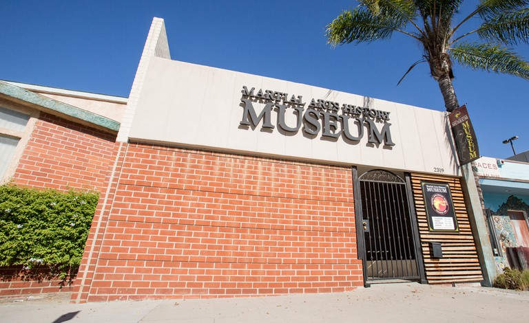 The Martial Arts History Museum in Burbank