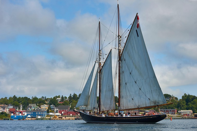 Bluenose II, Lunenburg Harbour, Nova Scotia, Canada
