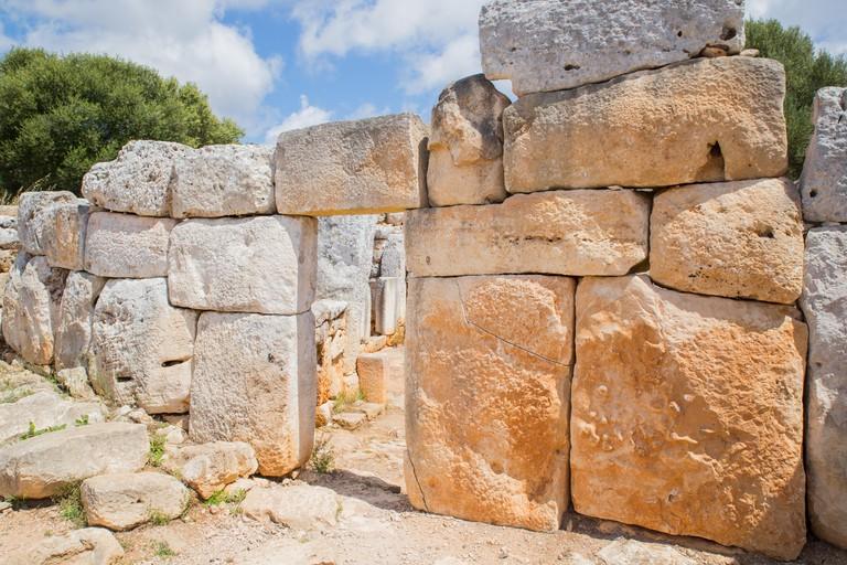 Talyoitic settlement in Menorca, Torre d'en Galmes