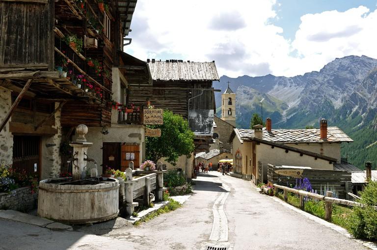 France, Hautes-Alpes, Parc Naturel Regional du Queyras, Saint-Veran village, Les Plus Beaux Villages de France, highest municipality in Europe (2040m)