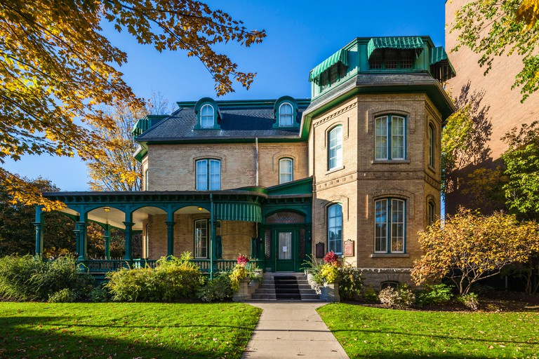 Canada, Ontario, Ottawa, capital of Canada, Laurier House National Historic Site, former residence of Canadian Prime Ministers Wilfrid Laurier and Mackenzie King