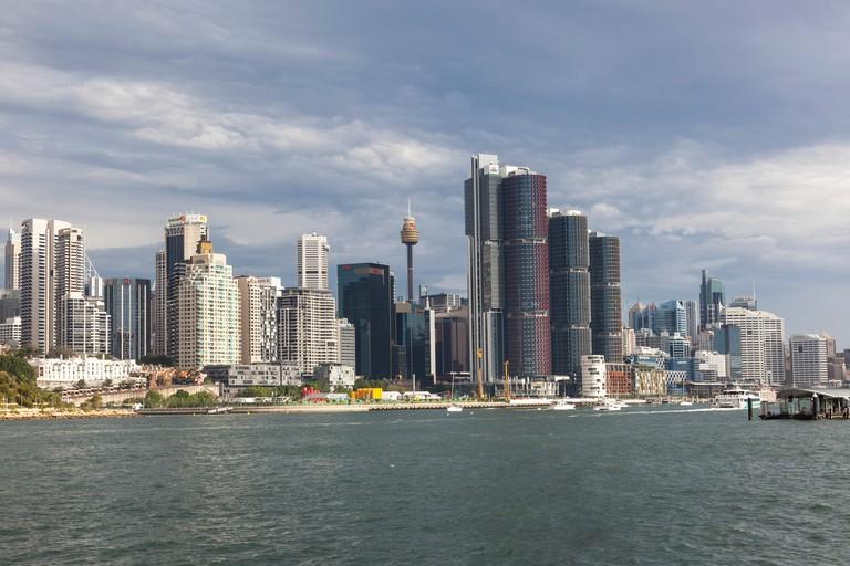 Barangaroo skyline, Sydney, NSW, Australia