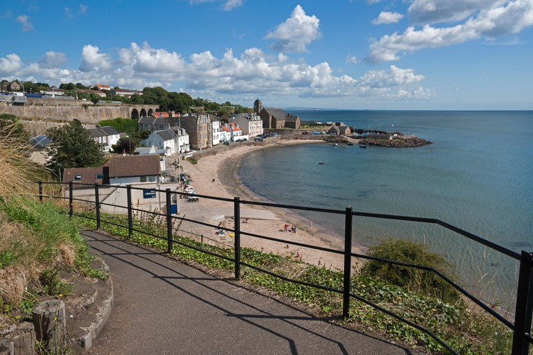 Kinghorn, Beach,  Firth of Forth; Coastal Path; Fife, Scotland, UK. Image shot 2014. Exact date unknown.