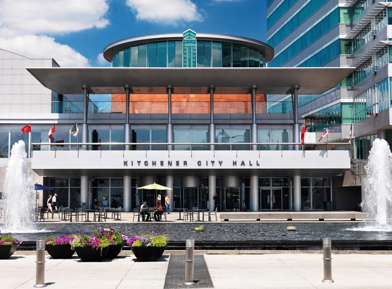 Kitchener City Hall building, Ontario, Canada 2012