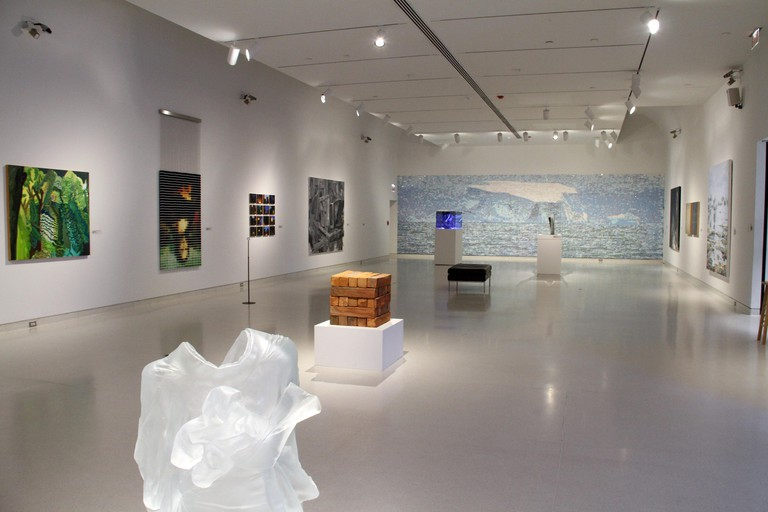 Artwork displayed at the Knoxville Museum of Art, Tennessee