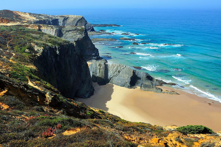 Southwest Alentejo and Vicentine Coast Natural Park. Alentejo, Portugal