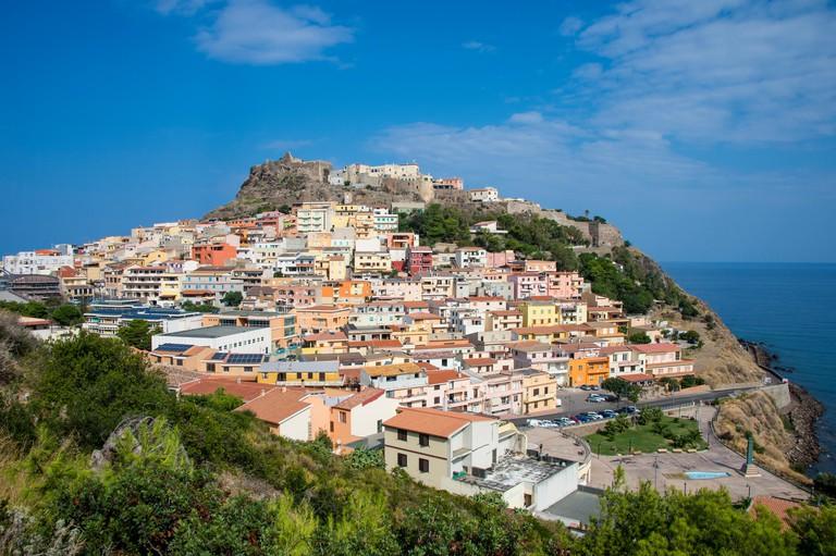 View of Castelsardo,Sardinia,Italy