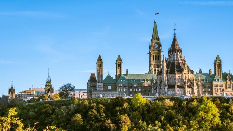 Beautiful Capture of Parliament Hill, Ottawa, Canada
