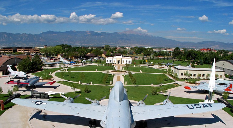 PETERSON AIR FORCE BASE, Colo.?The Edward J. Peterson Air and Space Museum on Peterson Air Force Base, Colorado, contains a static display airpark. American and Canadian aircraft can be found in the airpark along with surface-to-air missiles. (Courtesy ph