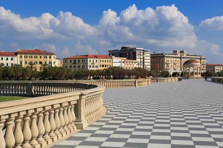 Terrazza Mascagni, Livorno, Tuscany, Italy, Europe