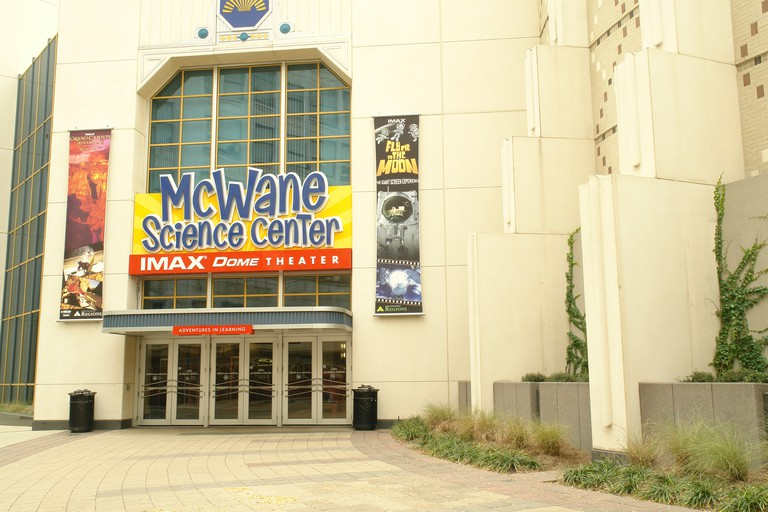 Birmingham, Al, Alabama, Downtown, McWane Science Center, IMAX Dome Theater. Image shot 2008. Exact date unknown.